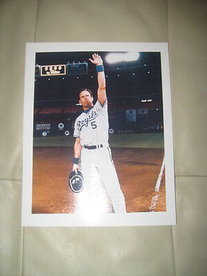George Brett  8 X 10 Unsigned Picture