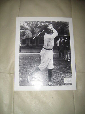Walter Hagen  8 X 10 Unsigned Picture