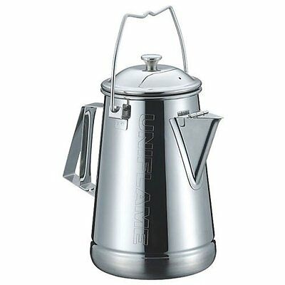 UNIFLAME Camping Kettle 1.6 Liter No.660287 Stainless Steel Cooker