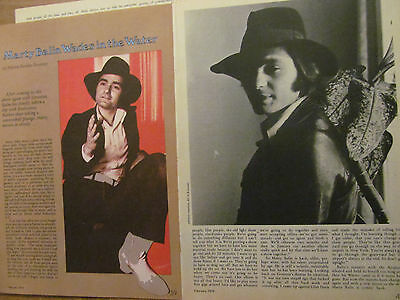 Marty Balin, Jefferson Airplane, Three Page Vintage Clipping