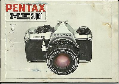 Pentax ME Super Instruction Manual