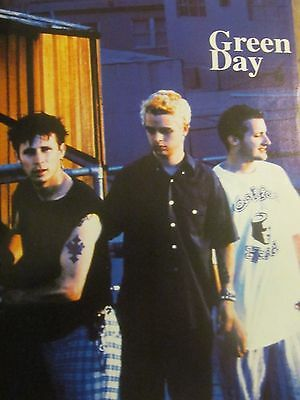Green Day, Full Page Vintage Pinup