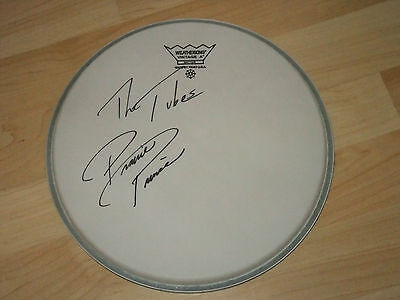 Prairie Prince The Tubes Signed Drumhead