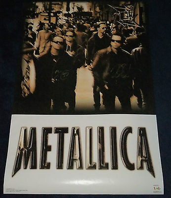 Metallica Fully Signed Poster