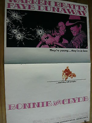 Bonnie And Clyde - Magazine Centrespread Poster (Ref C)
