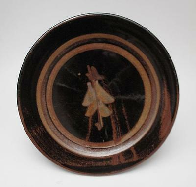 Signed Victor Greenaway Broomhill Pottery Australian Studio Stoneware Plate