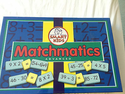Matchmatics Maths Game Educational Learning Teaching Sums Resources Smart Kids