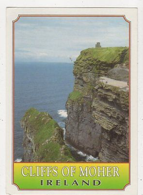 Cliffs Of Moher Co Clare Ireland 1997 Postcard 885a