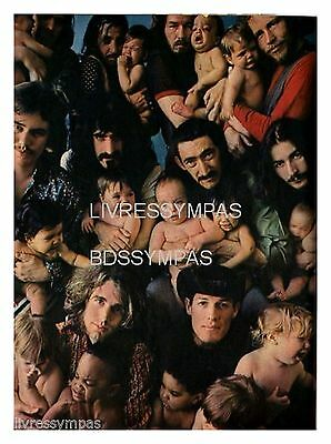 1968 : Document (Ref CLS 074) : CHANTEUR  GROUPE MOTHERS OF INVENTION    (1 p)