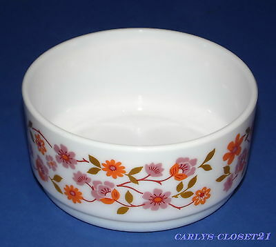 ARCOPAL France * Vintage Small Bowl * Scania Pattern * 10.5cm Diameter *