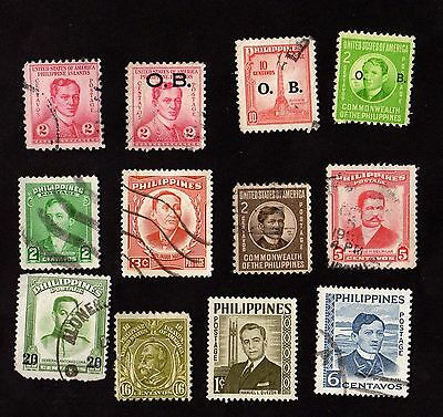 Stamps ~ PHILIPPINES Asia ~ Mixed UNSORTED