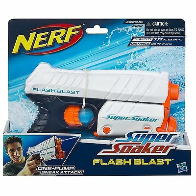 Brand New NERF Super Soaker FLASH BLAST Water Pistol BLASTER FlashBlast