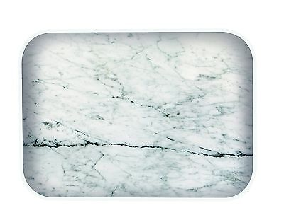 Zak Designs natural effect tea/key tray White Marble/whit... NEW - FAST DELIVERY