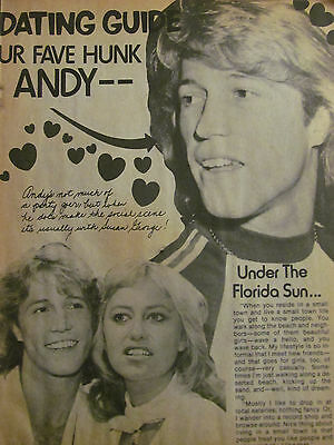 Andy Gibb, Full Page Vintage Clipping
