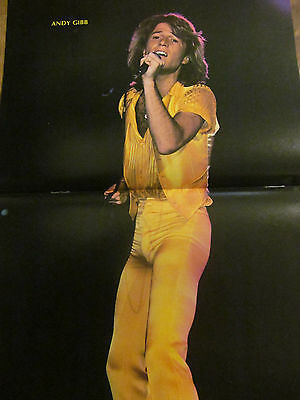 Andy Gibb, Two Page Vintage Centerfold Poster