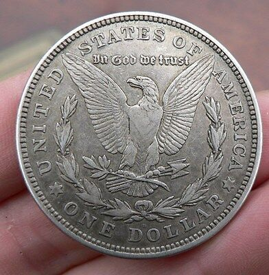 United States America Morgan  silver Dollar coin 1821 'D'