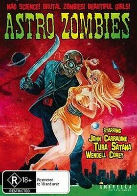 Astro Zombies (2016, REGION 0 DVD New)
