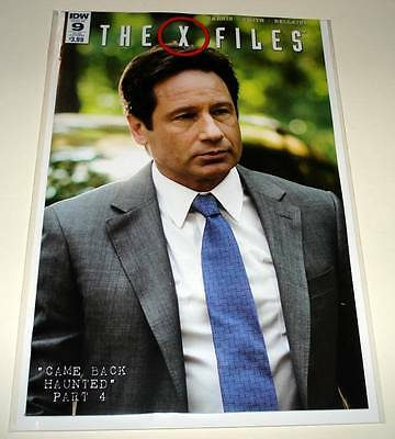 The X FILES # 9  IDW Comic  Dec 2016   NM   SUBSCRIPTION COVER VARIANT