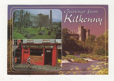 Greetings From Kilkenny Ireland 1997 Postcard 436a