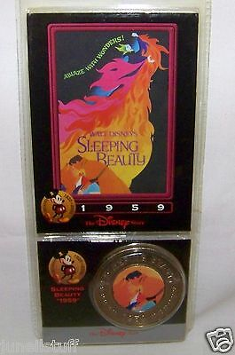 Disney Decades Coin Sleeping Beauty 1959 New in Package
