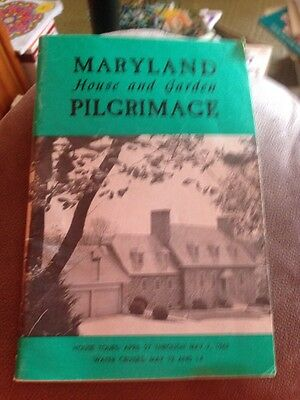 Maryland House And Garden Pilgrimage 1967 Paperback