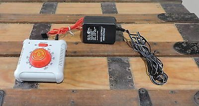 New Backman Speed Controller With Power Supply And Red Wire #46605