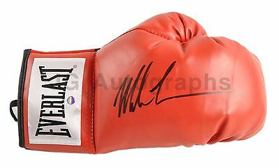 Mike Tyson Autographed Everlast Boxing Glove from Private Signing - Steiner / JG