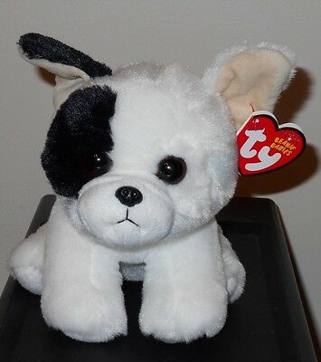 """Ty Beanie Baby ~ MARCEL the 6"""" French Bull Dog ~ (NEW) 2017 Design ~ IN HAND"""