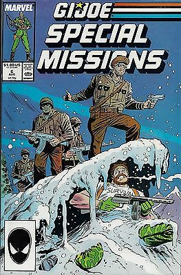G.I. JOE SPECIAL MISSIONS #6  Aug 1987