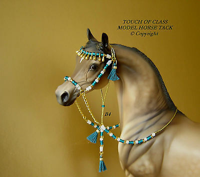 MODEL HORSE ARABIAN BEDOUIN STYLE BRIDLE LSQ Made to fit Peter Stone Models B4