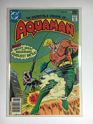 Aquaman #58 F/VF DC comic 1977 Origin retold