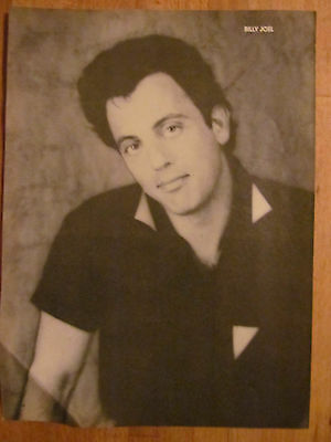 Billy Joel, Full Page Vintage Pinup, Industry