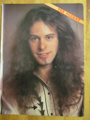 Ted Nugent, Full Page Vintage Pinup