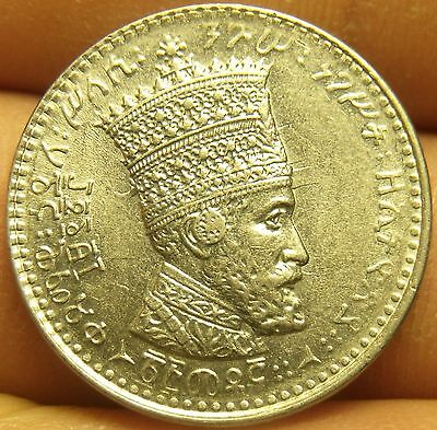 Ethiopia EE1923 (1931) 25 Matonas Unc~Excellent~Only Year Ever~Free Shipping