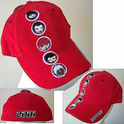 Limp Bizkit Cartoon Heads 01 Red Baseball Hat L/xl New