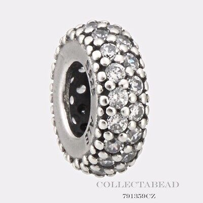 Authentic Pandora Sterling Silver Clear CZ Inspiration Within Spacer 791359CZ
