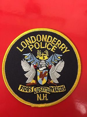 Londonderry  New Hampshire  Police  Shoulder Patch