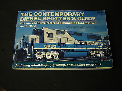 The Contemporary Diesel Spotter's Guide Reference Manual Train  Locomotives 1972