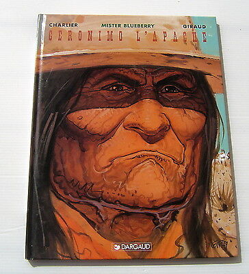 BLUEBERRY . 26 . Geronimo l'Apache . CHARLIER , GIRAUD . BD EO DARGAUD