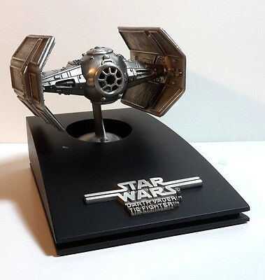 1993 Star Wars Limited Edition Darth Vader's TIE Fighter Rawcliffe Pewter Ship