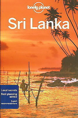 Sri Lanka LONELY PLANET TRAVEL GUIDE 2015 edition