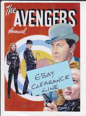 Photo Art Card THE AVENGERS Steed & Mrs Peel - Clearance Line - Only £1.20