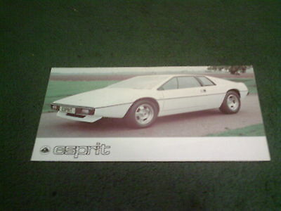 1977 / 1978 Lotus Esprit S1 - Uk Folder Brochure