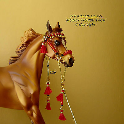 MODEL HORSE ARABIAN HALTER LSQ Made to fit Breyer and Peter Stone Models C20