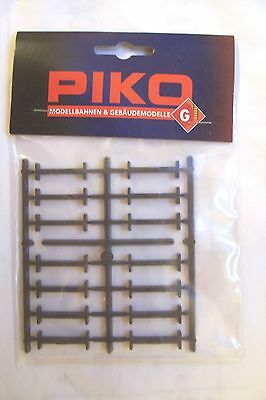 (066) G Scale,lgb,piko, 35285 Factory Sealed Bag Of 14 Plastic Track Clips