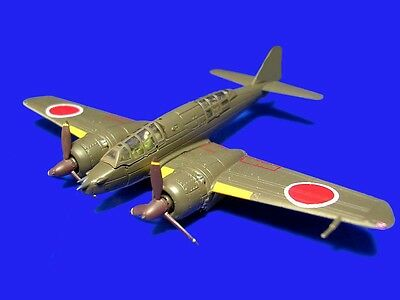 F-TOYS 1/144 Twin Engine  Collection 1 WWII Japan Command Recon Plane Hyakushi