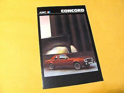 1979 Amc Concord (Usa) Sales Brochure