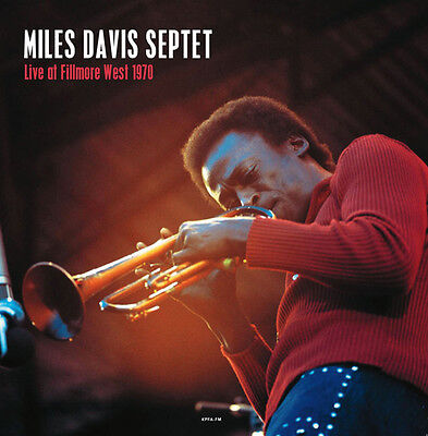 Davis Miles Live At The Fillmore West Lp Vinyl New 33Rpm