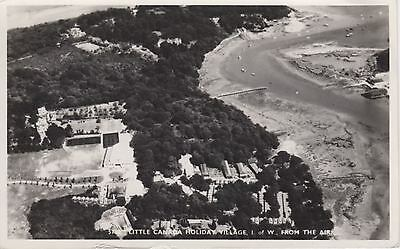 (ar86) Wight Wootton Creek Little Canada Holiday Village from the Air Nigh PC