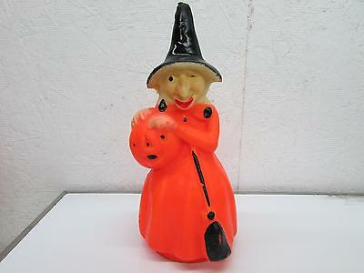 Vintage Gurley Large Halloween Witch Candle 1950's